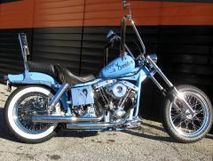 1970 FLH old school Chopper Bike