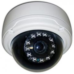 Indoor/Outdoor Day/Night Dome Camera High