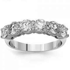 14K White Gold Womens Clarity Enhanced Diamond