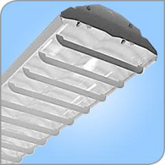 Louvered Profile Commercial with Uplight