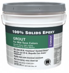 100% Solids Epoxy Grout
