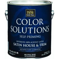 Color Solutions™ Latex Satin Self-Priming Exterior
