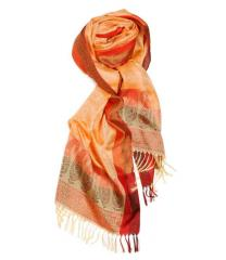 Alegra Handloomed Silk Scarf
