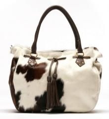 Italian Large Pony Shoulder Bag