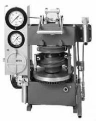 Gyratory-Shear Molding Press