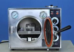 Tabletop autoclave sterilizer