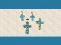 Pendants and Earrings Cross