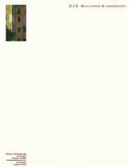 Custom Color Letterhead