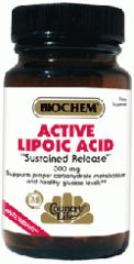 Active Lipoic Acid 60 Tablet