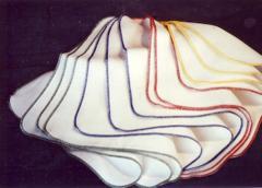 White сotton napkins