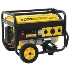 Champion 3500/4000 Watt Generator with FREE Wheel