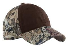 Port Authority ® - Camo cap with contrast front