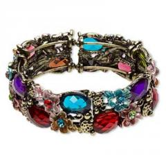 Cuff gemstone bracelets