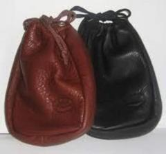 Fun leather pouch
