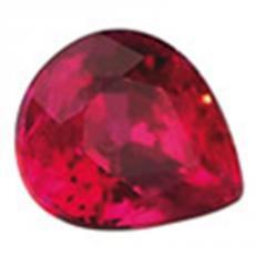 Ruby precious stones