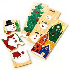 Countdown To Christmas™ Wooden Matching Puzzle