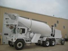 4-2007 Terex/Advance 6x6 Mixer Truck with 11yd