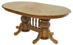 Manchester Double Pedestal Table