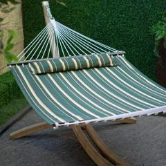 Island Bay Seagrass Quilted Hammock