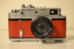 Vintage Cameras : Zorki 4K de 1974