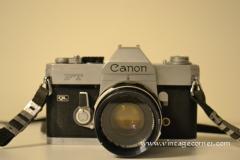 Vintage Cameras : Canon FT QL de 1966.