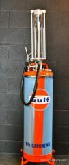 Vintage Petrol Pump : Pompe à essence 2 Temps