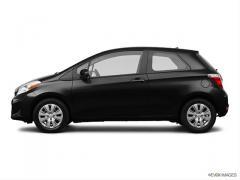 2012 Toyota Yaris LE Car