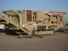 Track Mounted Jaw Crusher