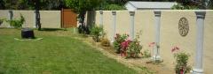 Stucco Fence