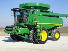 Used Combine John Deere 9670 STS, 2010