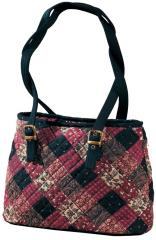 Midnight Rouge Milan Quilted Handbags Bags