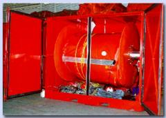 Oil Stop Containerized Boom Reel