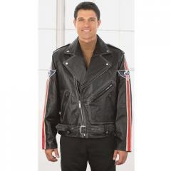 Mens Flag Motorcycle Jacket