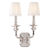 Arlington 382-PN Polished Nickel Wall Sconce