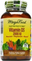 MegaFood Vitamin D-3 2000 IU
