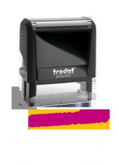 Original Trodat Printy stamp