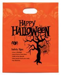 Plastic Bag Happy Halloween
