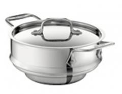 The stainless steel all-purpose steamer