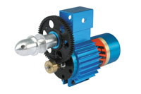 HG20 Brushless Geared 110-175 Watts motors