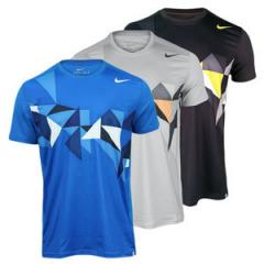 Tennis polo nike men`s advantage tread