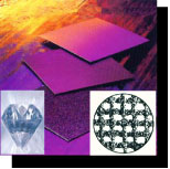 Diamond coated cloth sheets