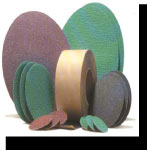 Coated abrasive rolls