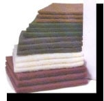 Non-woven hand pads