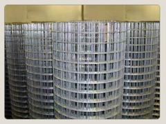 Galvanized mesh