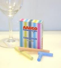 12 Pc Colored Aarco Chalk