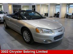 2002 Chrysler Sebring Limited Convertible