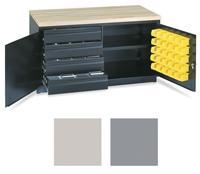 Bulldog™ Work Bench/Cabinet Combo