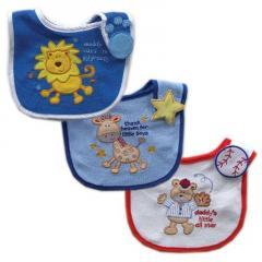 3-Pack  Baby Bibs