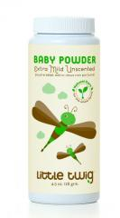 Unscented Extra Mild Baby Powder