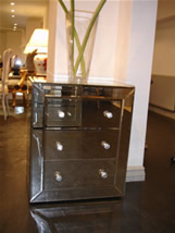 Roxy mirrored chest